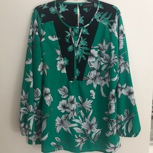 Lane Bryant Plus Size Floral Top